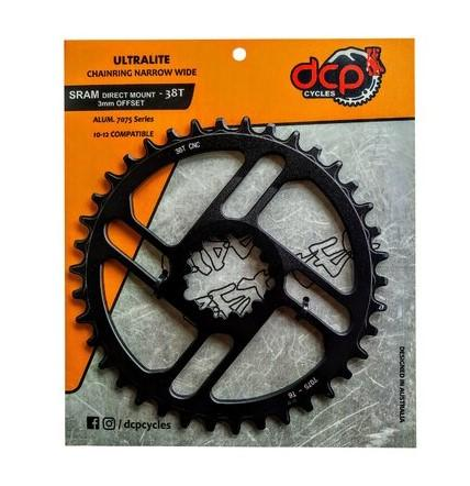 Plato DCP Narrow Wide anclaje SRAM p/Eagle 12V